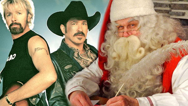 Brooks and dunn Songs | Brooks and Dunn - Santa Claus Is Comin' To Town | Country Music Videos