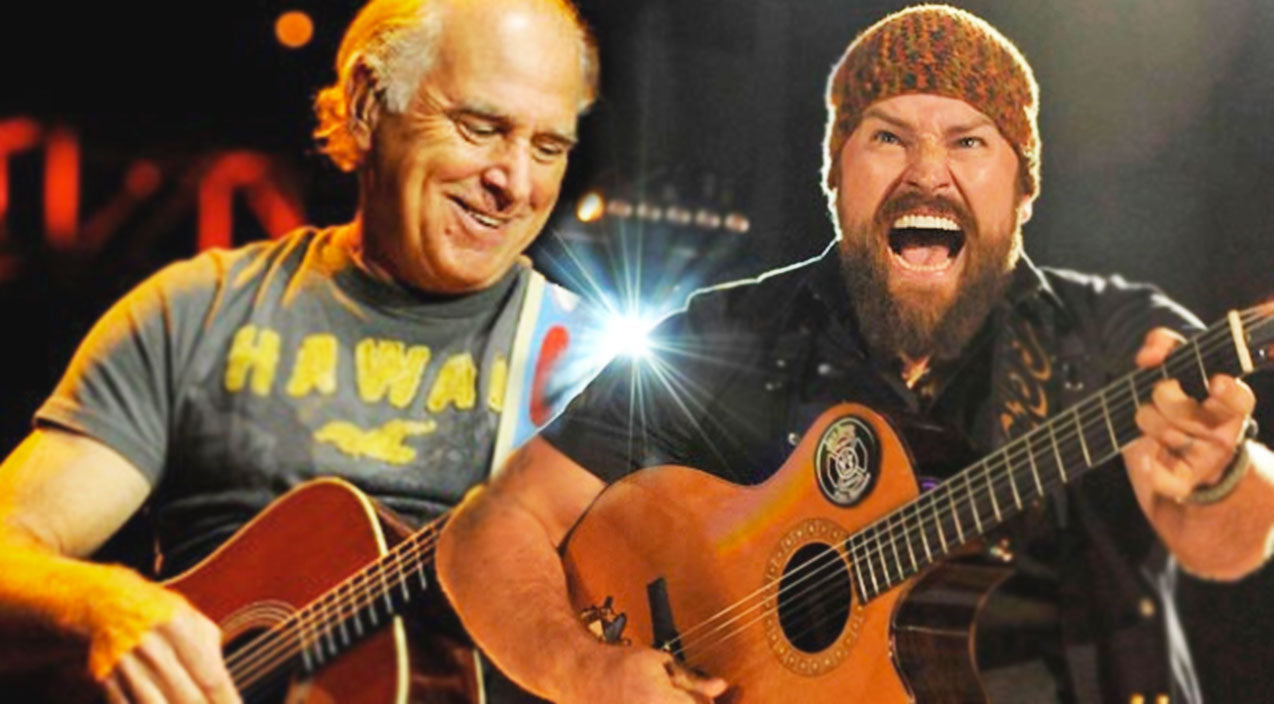 Zac brown band Songs | Zac Brown Band & Jimmy Buffett Perform 'Toes' (Live, CMT) | Country Music Videos