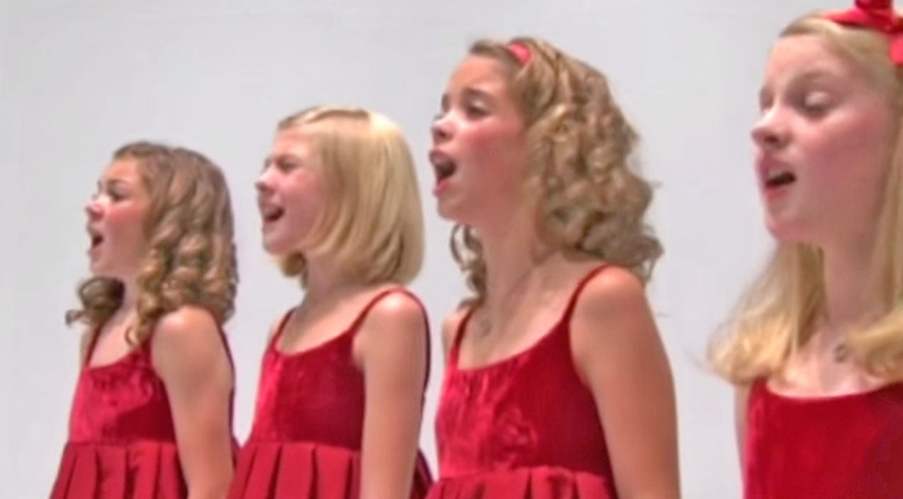 Four Little Girls Sing A Chilling Patriotic Song | Country Music Videos