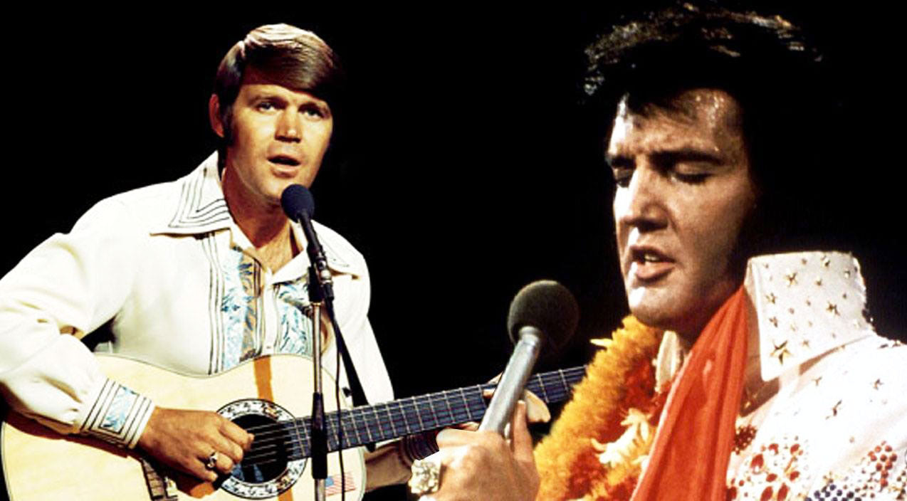 Hank williams Songs | Elvis Presley & Glen Campbell Dueting 'I'm So Lonesome I Could Cry' Will Give You Chills | Country Music Videos