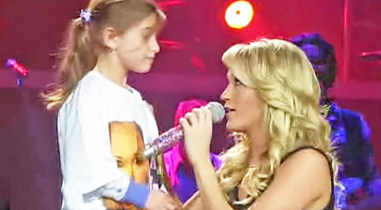 Carrie underwood Songs | Carrie Underwood Brings 6-Year-Old On Stage For Exciting Duet (And Advice) | Country Music Videos