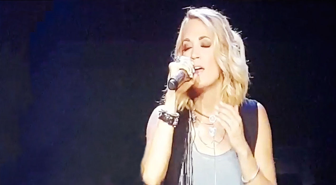 Modern country Songs | Carrie Underwood Bids Emotional Goodbye To Tour With 'I Will Always Love You' | Country Music Videos