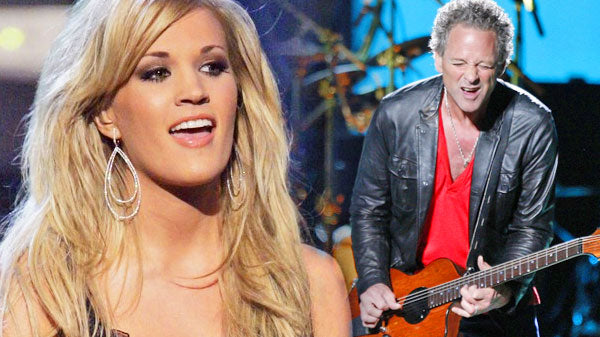Lindsey buckingham Songs | Carrie Underwood and Lindsey Buckingham Rocked Fleetwood Mac's