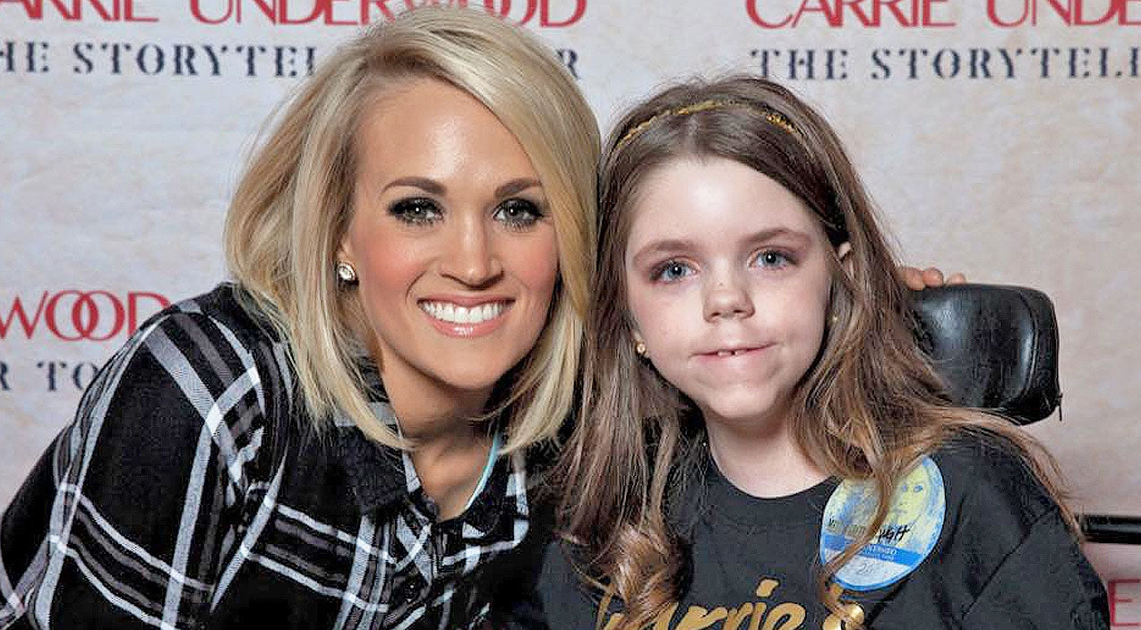 Carrie underwood Songs | Little Girl With Rare Disorder Wanted One Thing, And Carrie Underwood Made It Happen | Country Music Videos