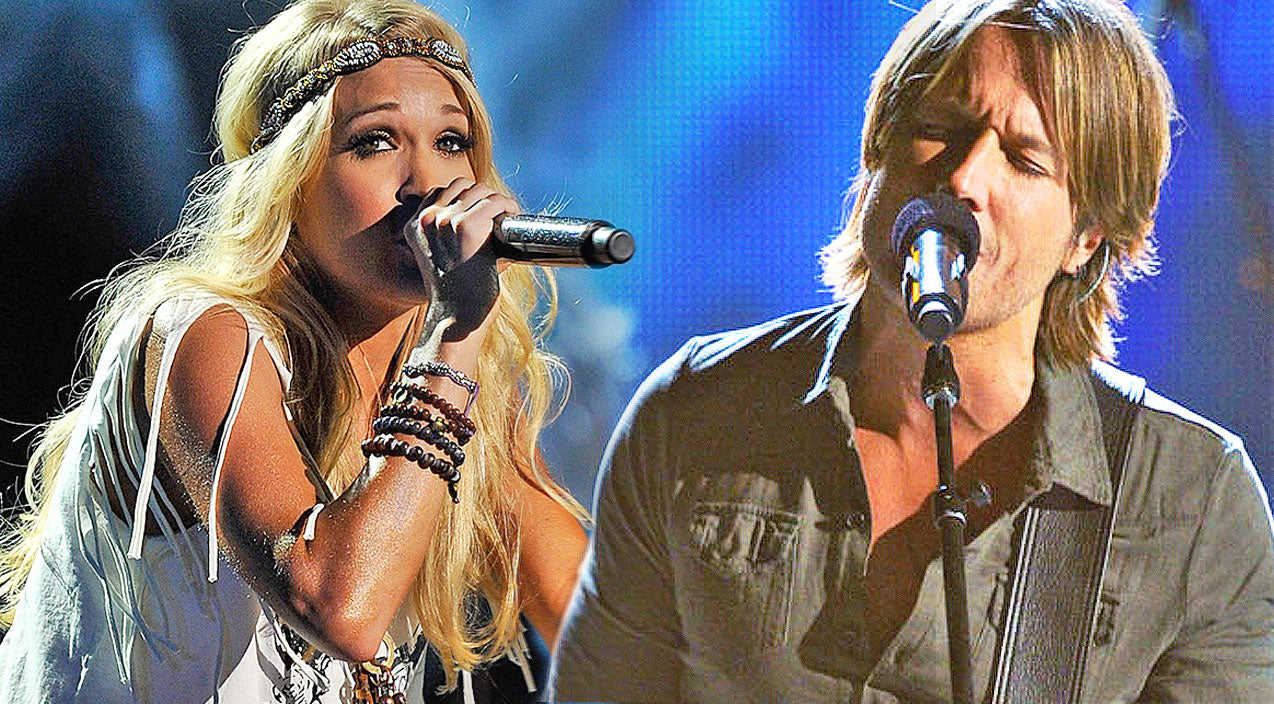 Keith urban Songs | Flashback: Carrie Underwood And Keith Urban Take On Classic Rock Duet | Country Music Videos