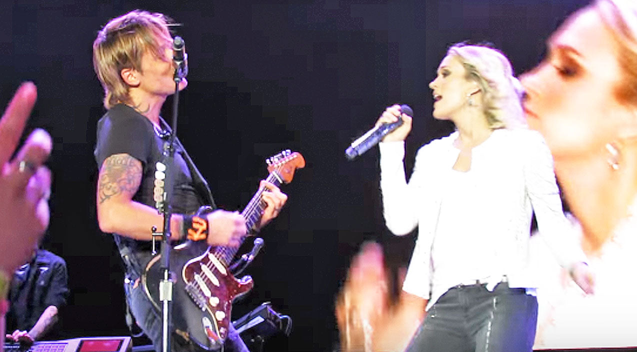 Keith urban Songs | For The First Time Ever, Keith Urban And Carrie Underwood Perform Their Duet 'The Fighter' | Country Music Videos