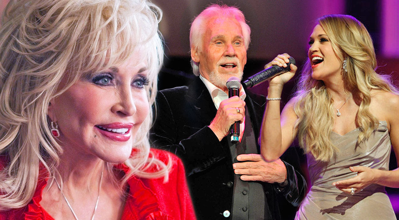 Kenny rogers Songs | Carrie Underwood And Kenny Rogers Honor Dolly Parton With Incredible 'Islands In The Stream' Duet | Country Music Videos
