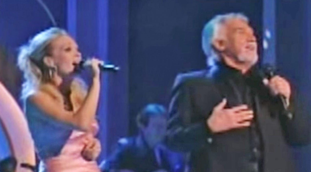 Kenny rogers Songs | Carrie Underwood & Kenny Rogers Delight Dolly Parton With 'Islands In The Stream' | Country Music Videos