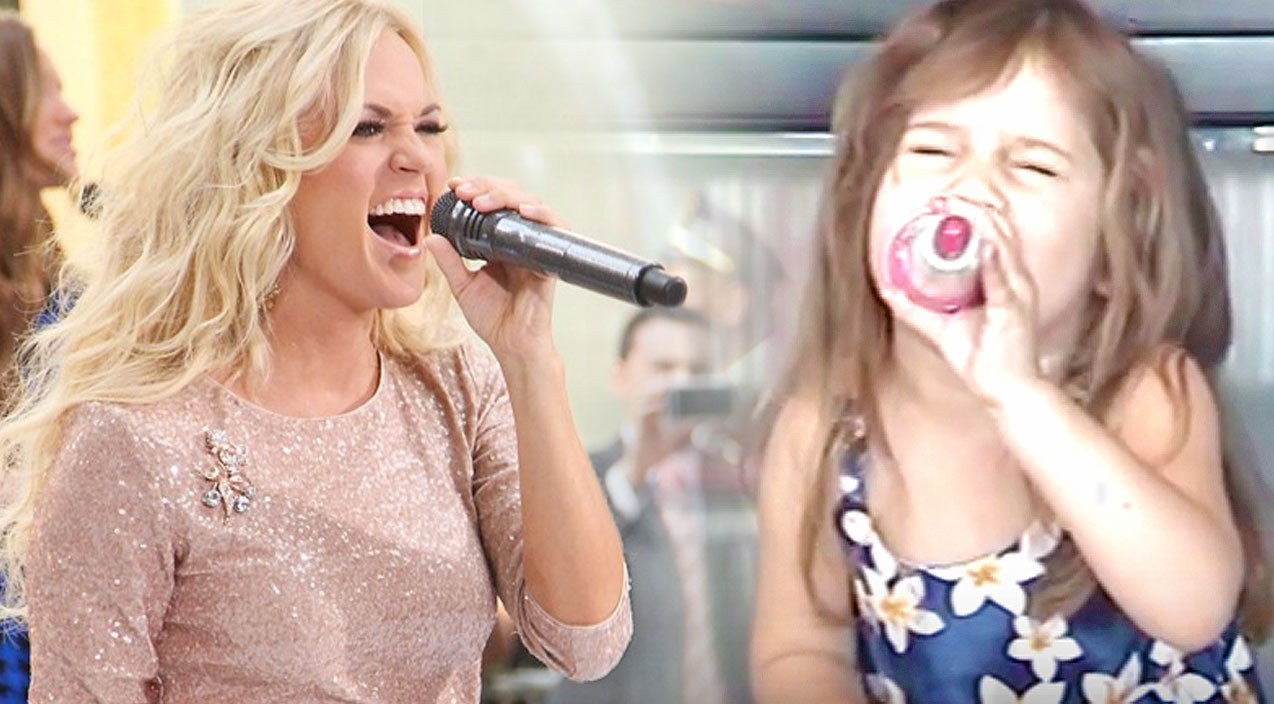 Carrie underwood Songs | Sassy 4-Year-Old Sings Carrie Underwood's 'Before He Cheats' With Extra Attitude | Country Music Videos
