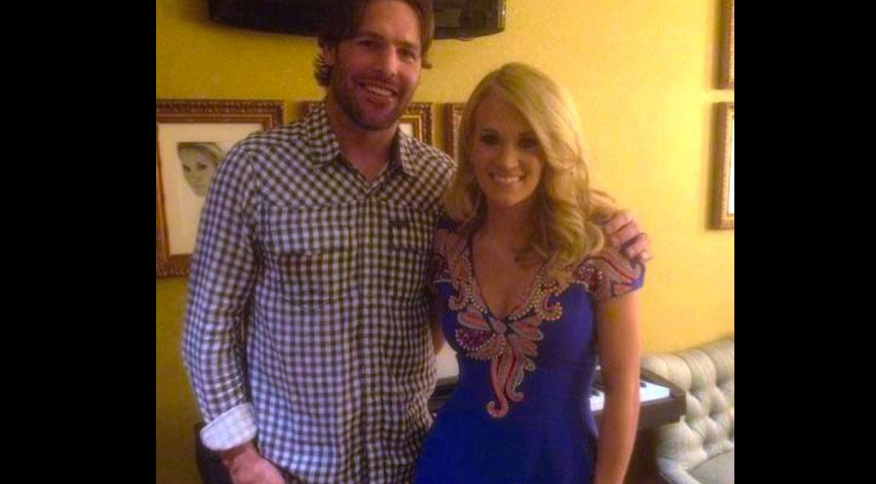Mike fisher Songs   Carrie Underwood Gushes Over Husband's Latest History-Making Victory   Country Music Videos