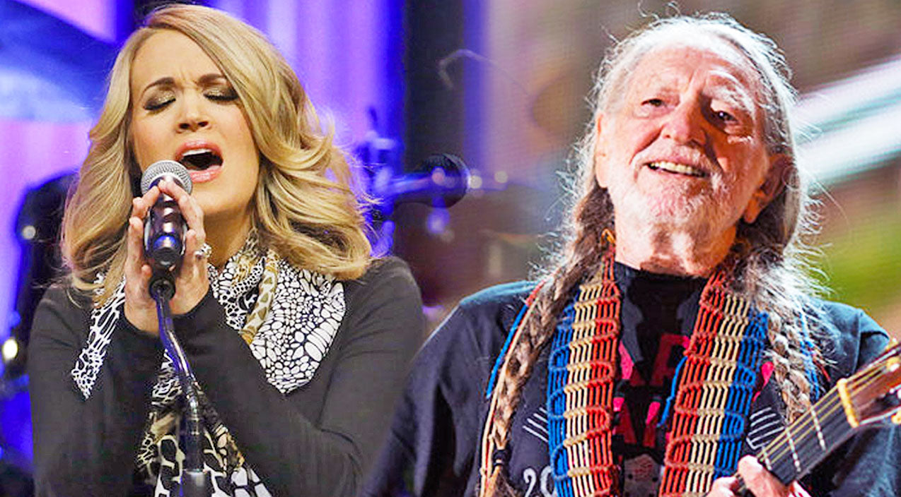 Willie nelson Songs | Willie Nelson & Carrie Underwood's Duet Of 'Always On My Mind' Will Leave You Speechless | Country Music Videos