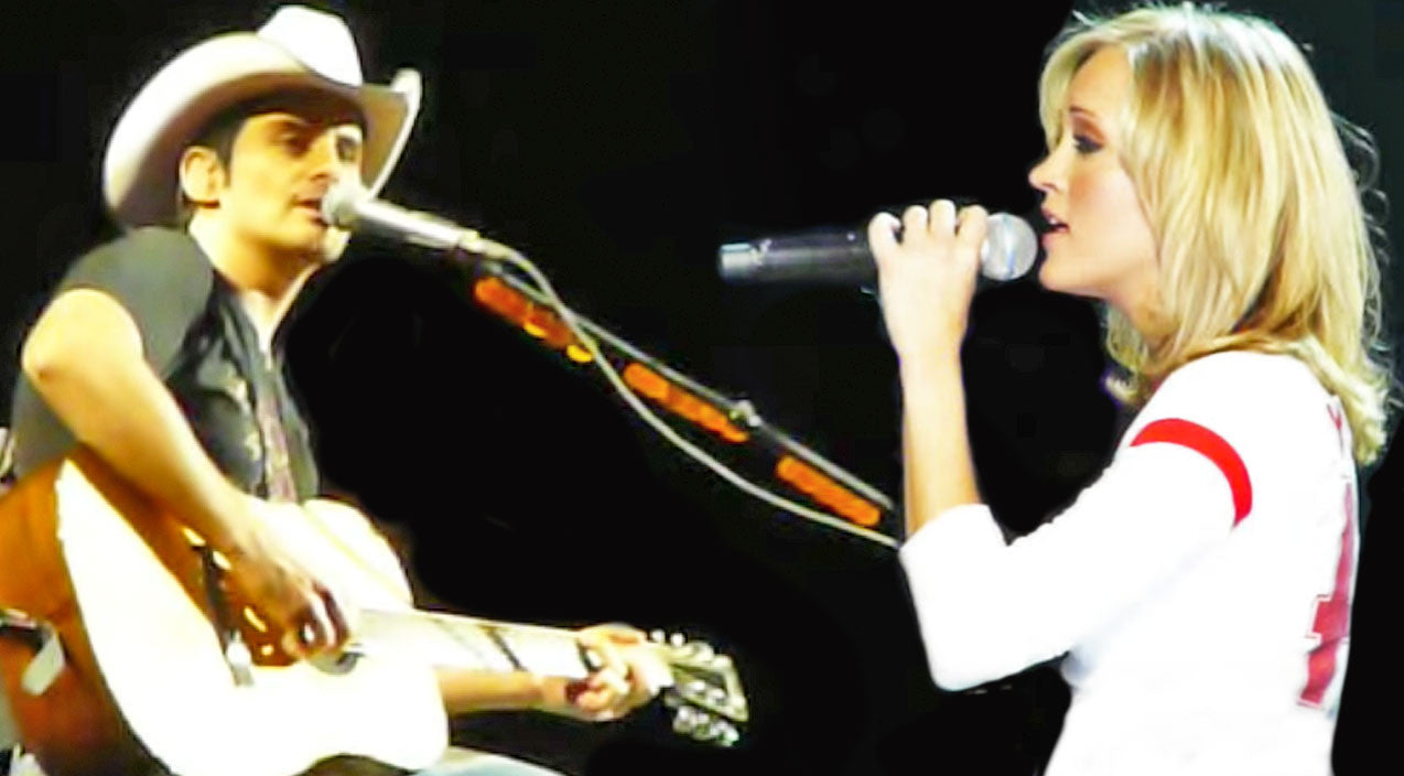 Carrie underwood Songs | Brad Paisley & Carrie Underwood Break Hearts With 'Whiskey Lullaby' Duet | Country Music Videos