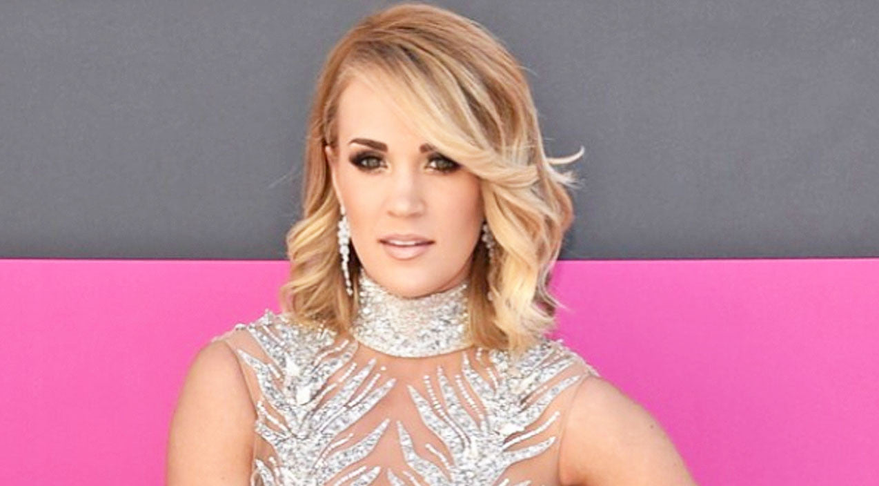 Carrie Underwood Posses for Photo with Below Deck Alum Adrienne Gang One Month After Fall