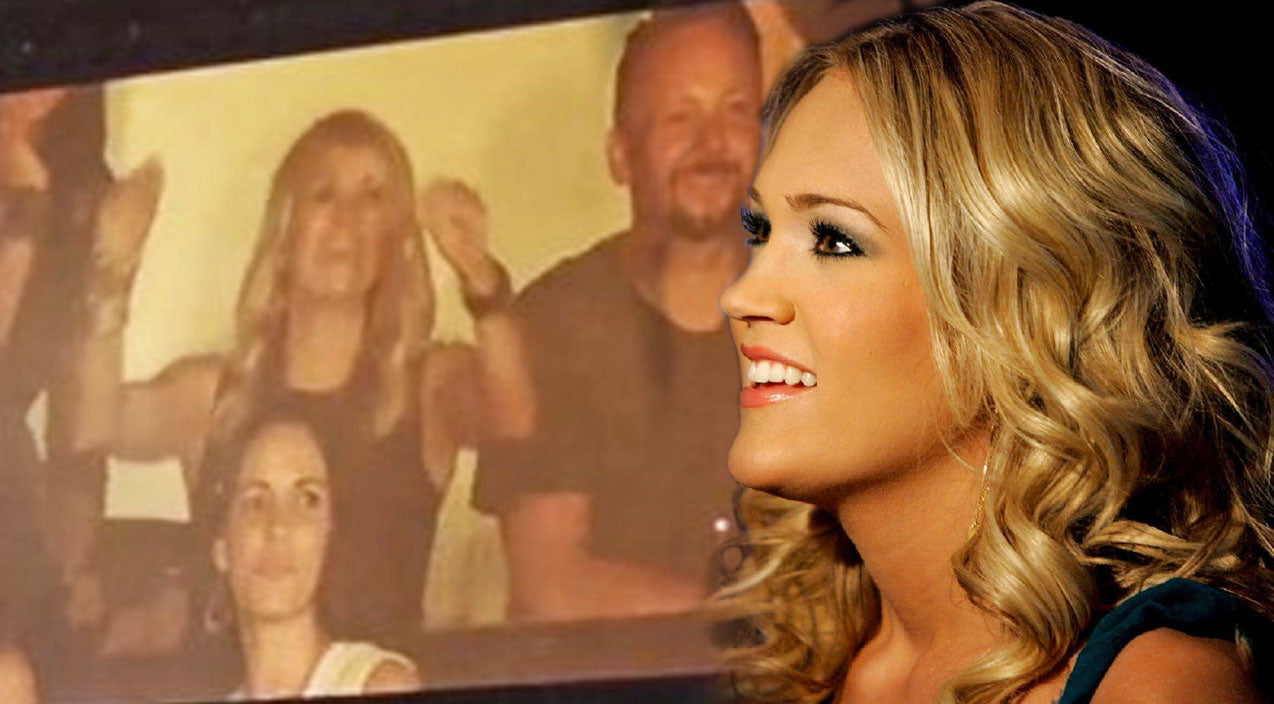 Carrie underwood Songs | You'll Never Believe Who Carrie Underwood Was Serenaded By | Country Music Videos