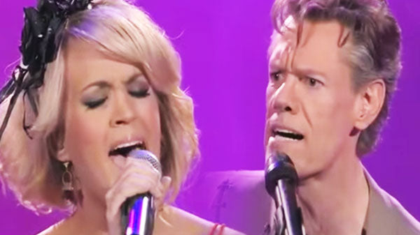 Randy travis Songs | Randy Travis & Carrie Underwood Duet -