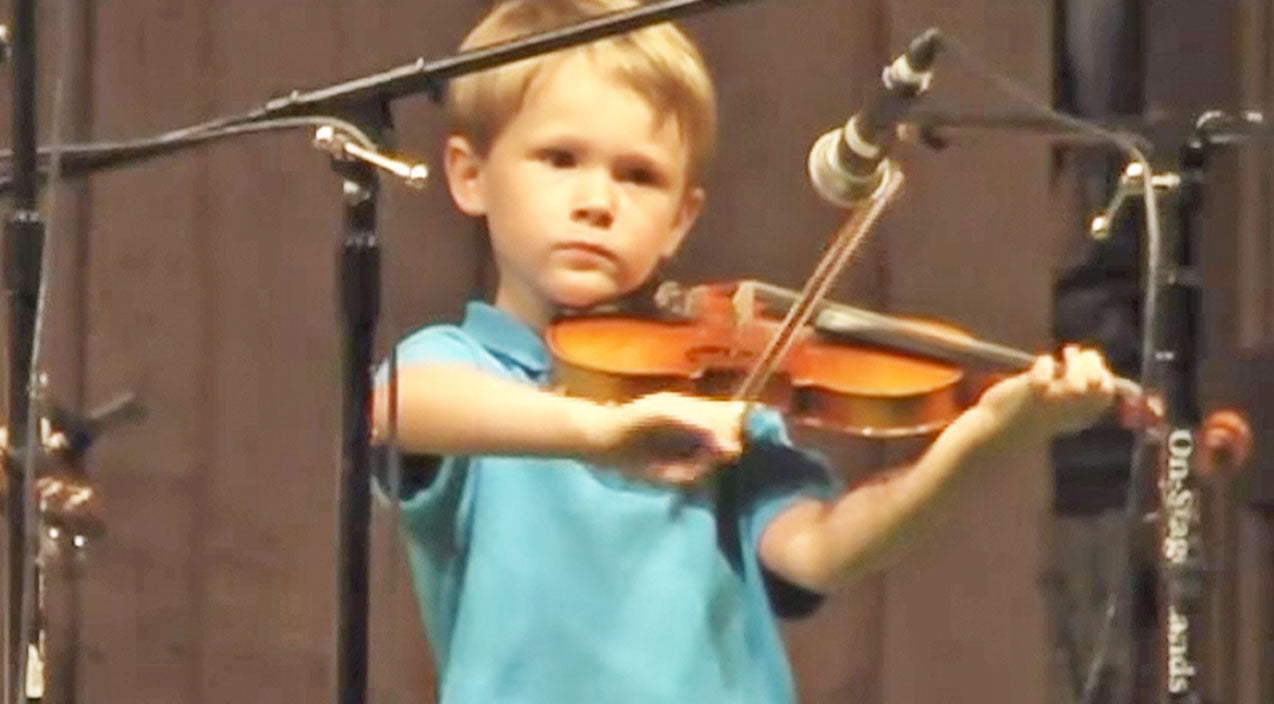 Classic country Songs | This Fiddlin' 4-Year-Old's Performance Of 'Whiskey Before Breakfast' Will Blow You Away! (WATCH) | Country Music Videos