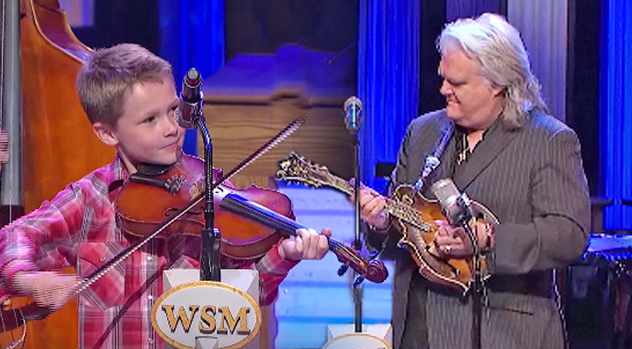 Ricky skaggs Songs | 10-Year-Old Joins Country Legend For Mind-Blowing 'Blue Moon Of Kentucky' Opry Performance | Country Music Videos