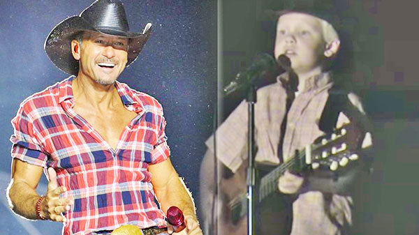 Tim mcgraw Songs | First Grader, Carson Lueders Covers Tim McGraw's