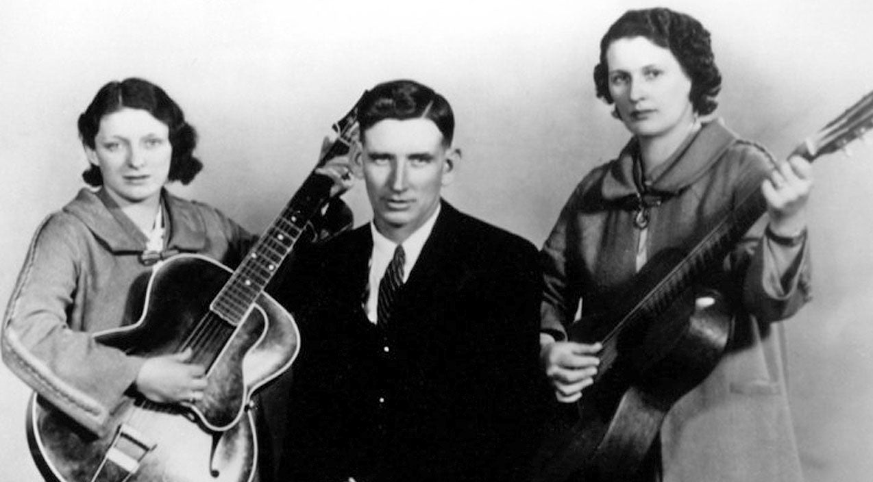 The carter family Songs | The Carter Family Bleeds Gospel With Vintage Recording Of 'Can The Circle Be Unbroken (By And By)' | Country Music Videos