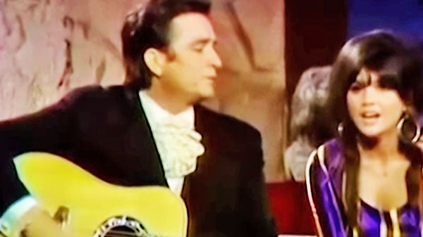 Johnny cash Songs | Johnny Cash and Linda Ronstadt - I Never Will Marry | Country Music Videos