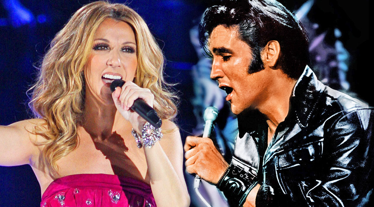 Elvis presley Songs | Elvis Presley and Celine Dion's Seemingly Impossible, Inspirational Onstage Performance | Country Music Videos