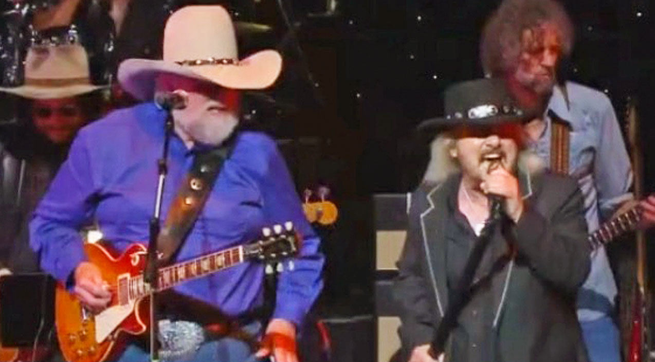 Lynyrd skynyrd Songs | Donnie Van Zant & Charlie Daniels Singing 'Down South Jukin'' Is The Best Thing You'll Hear All Day | Country Music Videos