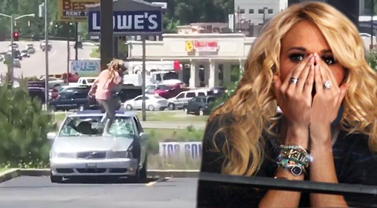 Viral content Songs | Woman Channels Carrie Underwood & Angrily Destroys Cheating Boyfriend's Ride | Country Music Videos