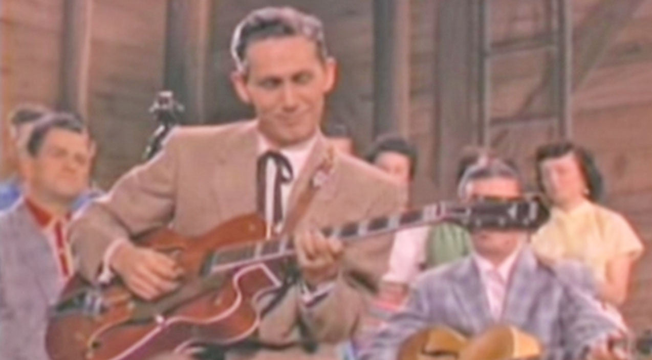 Chet atkins Songs | Chet Atkins' Guitar Cover Of 'Mr. Sandman' Is A Country Fan's Dream | Country Music Videos