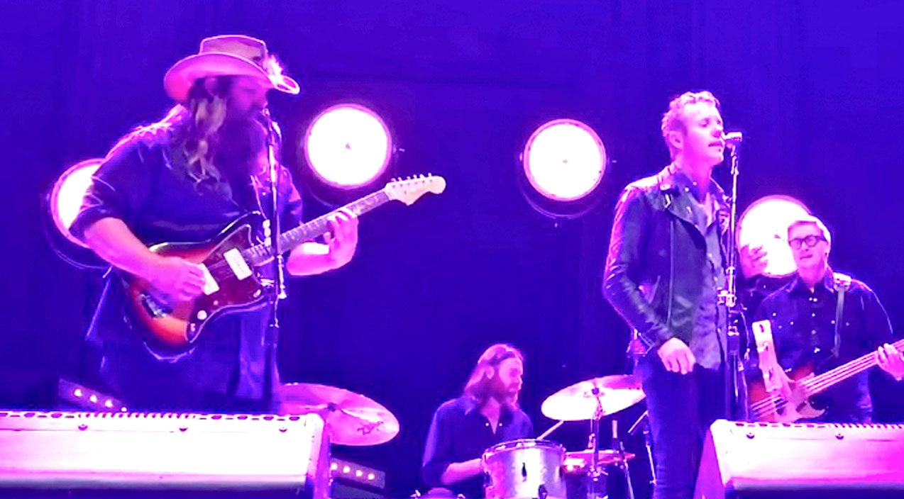 Morgane stapleton Songs | Chris Stapleton & Anderson East Team Up For Crowd-Pleasing Performance Of 'My Girl' | Country Music Videos