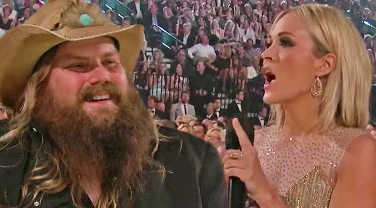 Chris stapleton Songs | 'ACM' Crowd Takes Credit For Chris Stapleton's Fame, But Wait For What Carrie Underwood Says! | Country Music Videos