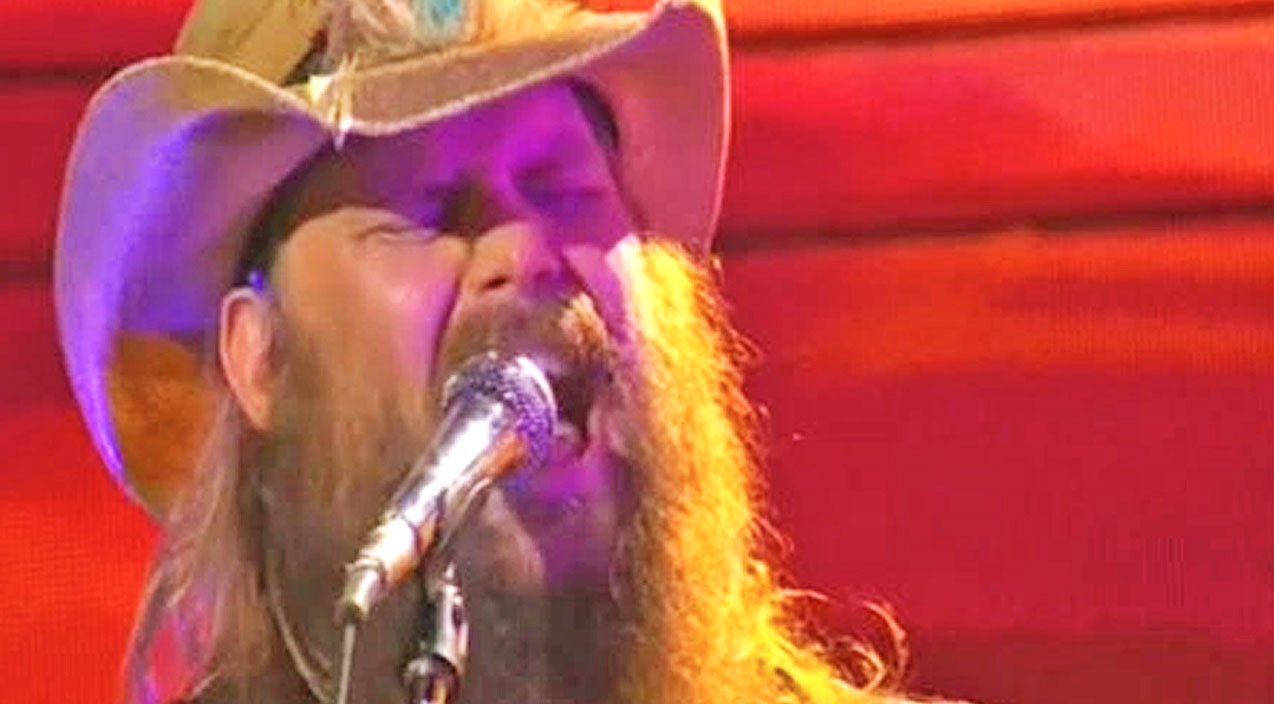 Morgane stapleton Songs | Chris Stapleton Rides Off Into The Sunset With Soulful Performance Of 'Parachute' | Country Music Videos