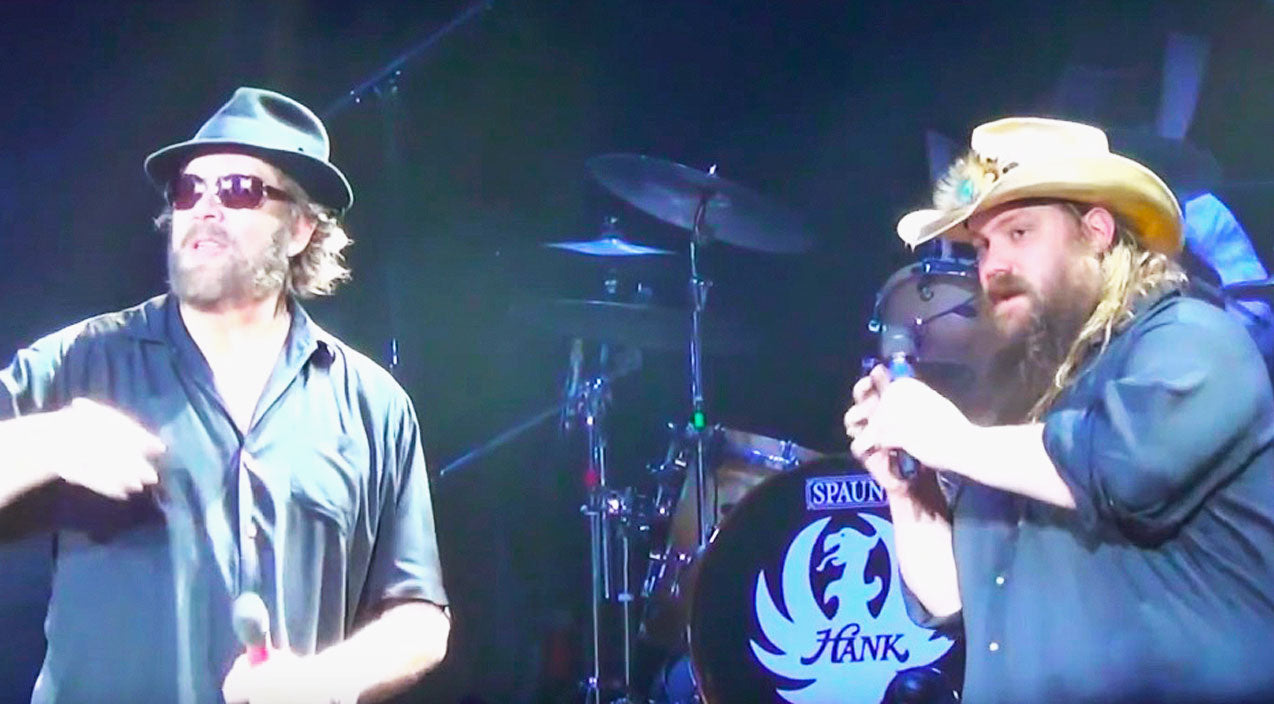Hank williams jr. Songs | Chris Stapleton & Hank Williams Jr. Join Forces On Rowdy Rendition Of 'Family Tradition' | Country Music Videos