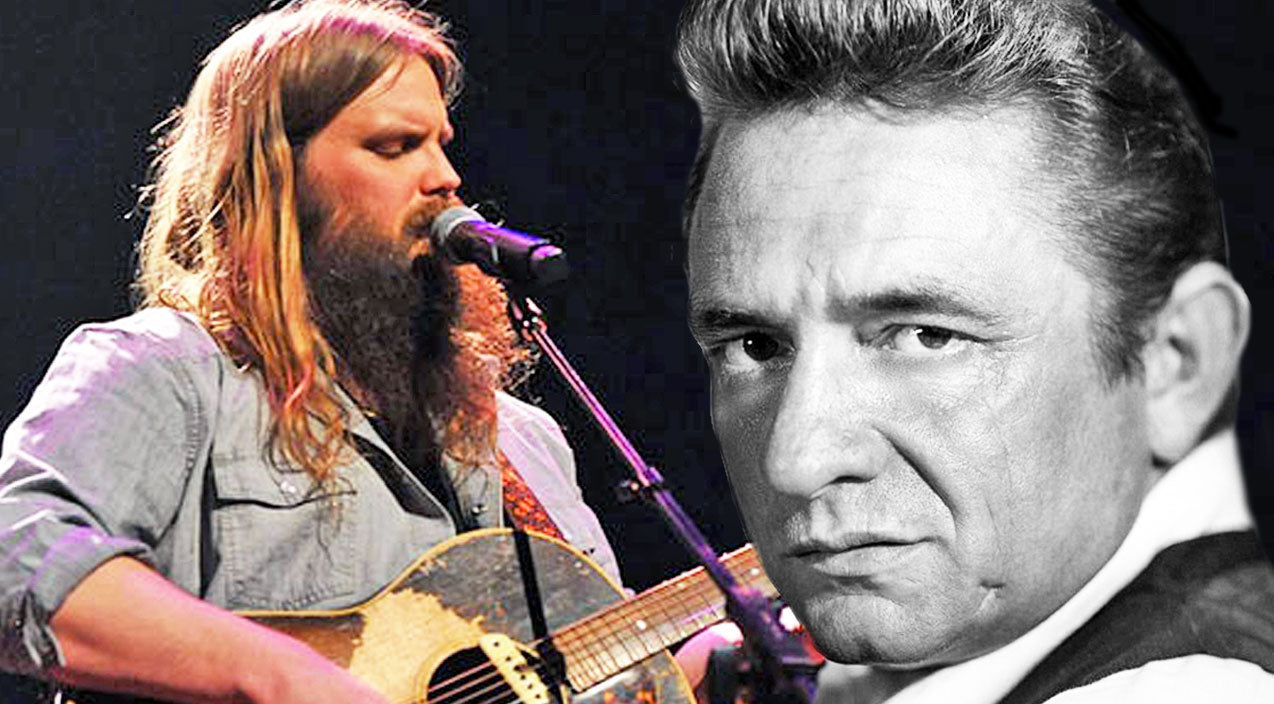 Johnny cash Songs | Chris Stapleton Puts Soulful Spin On Johnny Cash's 'Folsom Prison Blues' | Country Music Videos