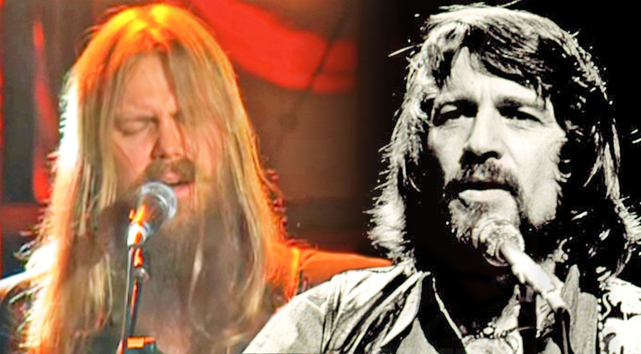 Waylon jennings Songs | Chris Stapleton Channels Waylon Jennings For Mind-Blowing 'Amanda' Cover | Country Music Videos