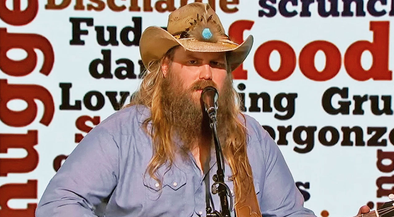 Chris stapleton Songs | Chris Stapleton Sings Most Cringeworthy Words In Hilarious Skit | Country Music Videos