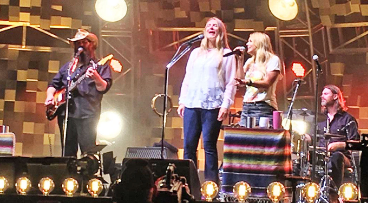 Morgane stapleton Songs | Miranda Lambert Joins Chris Stapleton & His Wife On Stage For Surprise 'Fire Away' | Country Music Videos
