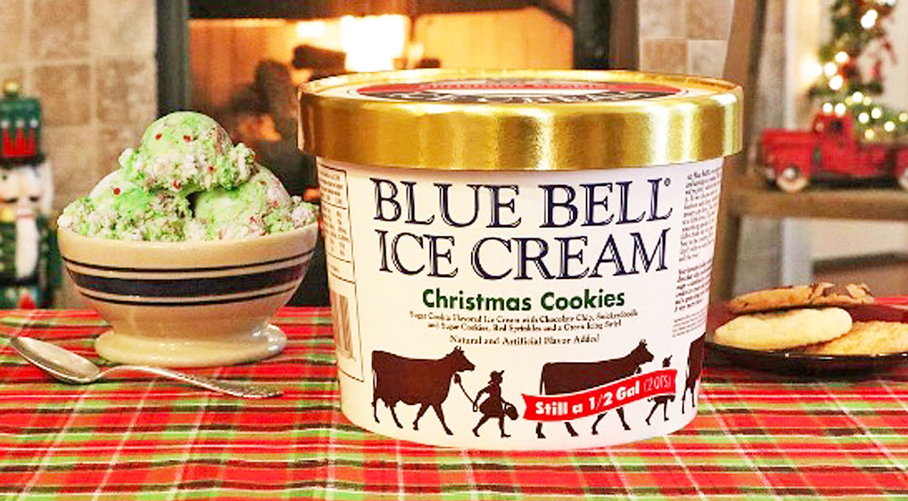Viral content Songs | Find Out Where You Can Get Your Hands On Blue Bell's Cookie-Packed Christmas Flavor | Country Music Videos