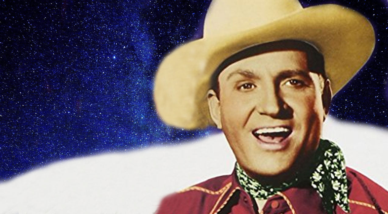 Gene autry Songs | Enjoy The Sweet Sound Of Gene Autry Singing The Cozy Christmas Classic 'Up on the House Top' | Country Music Videos