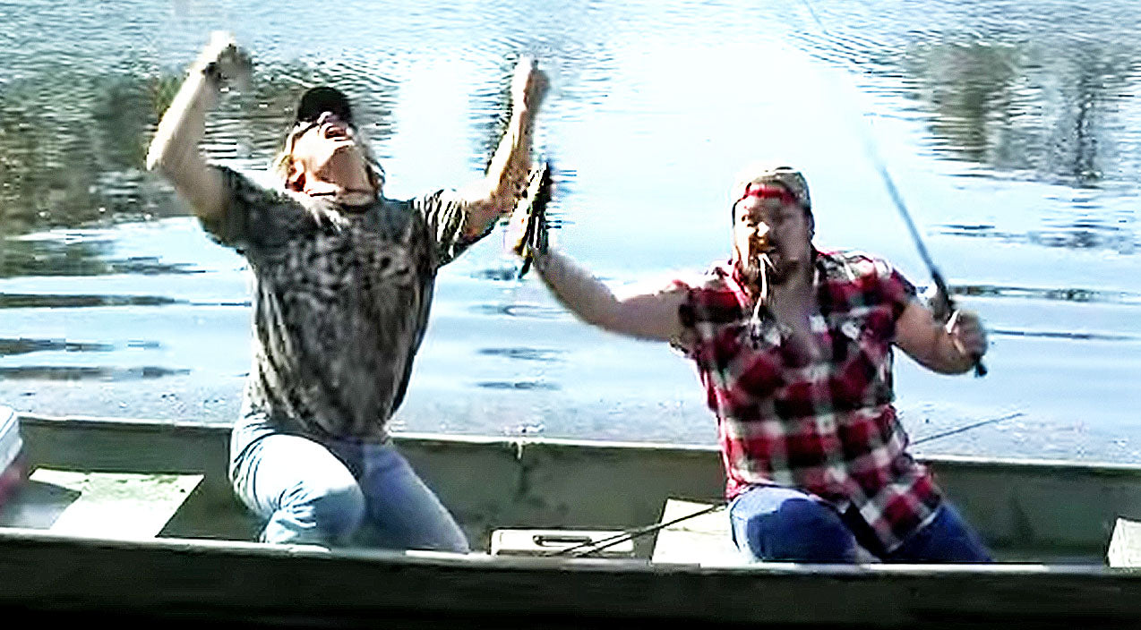 Modern country Songs | Redneck Fisherman Gives Carrie Underwood's Hit Hysterical Twist In 'Cletus Take The Reel' | Country Music Videos