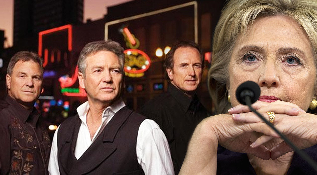 Larry gatlin Songs | Larry Gatlin And The Gatlin Brothers Blast Hillary Clinton In Brazen New Song | Country Music Videos