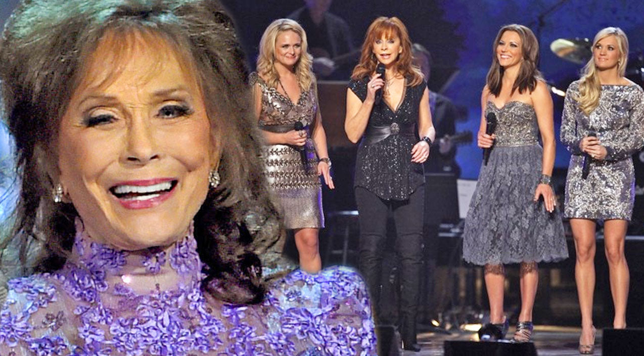 Reba mcentire Songs | Talented Ladies of Country Honor Loretta Lynn With Impressive Cover of 'Coal Miner's Daughter' | Country Music Videos