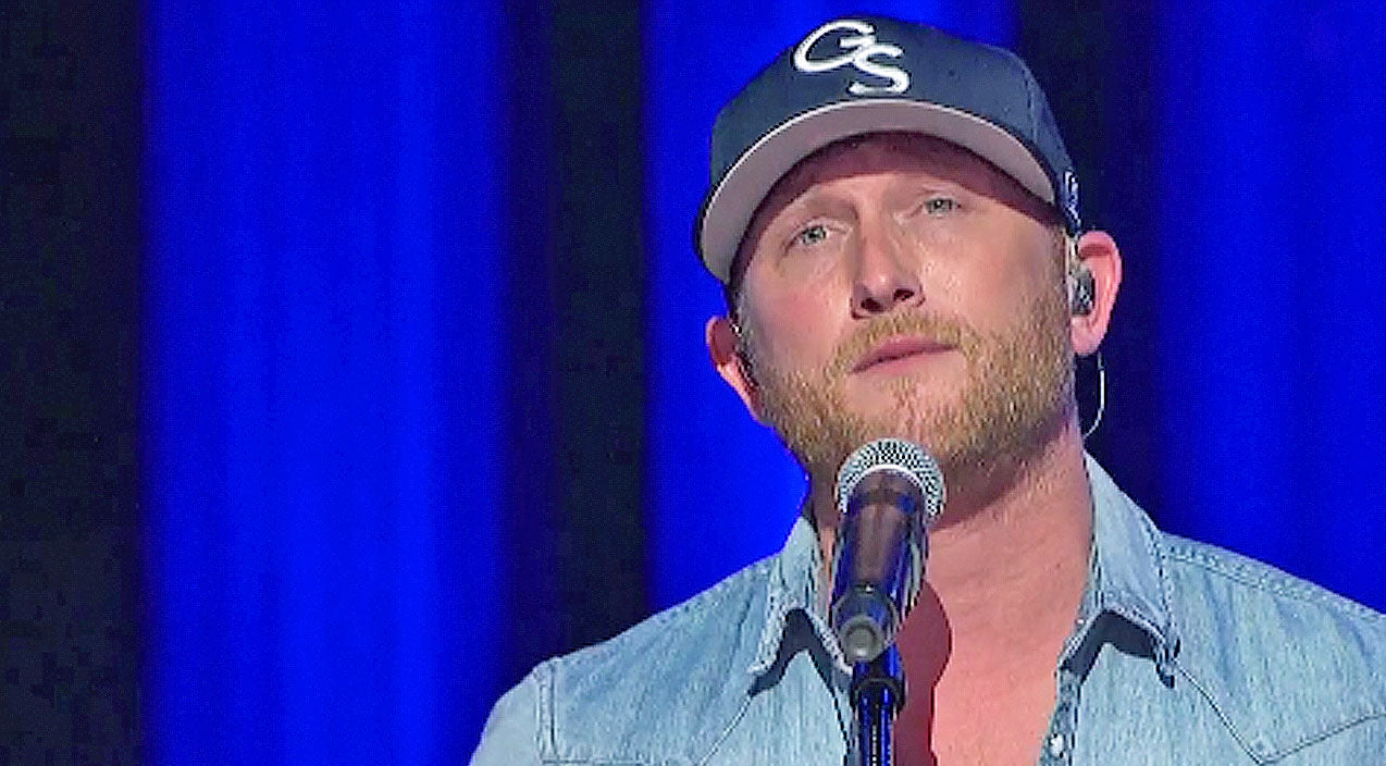 Cole swindell Songs | Cole Swindell Fights Tears Performing Song Written For Deceased Father | Country Music Videos