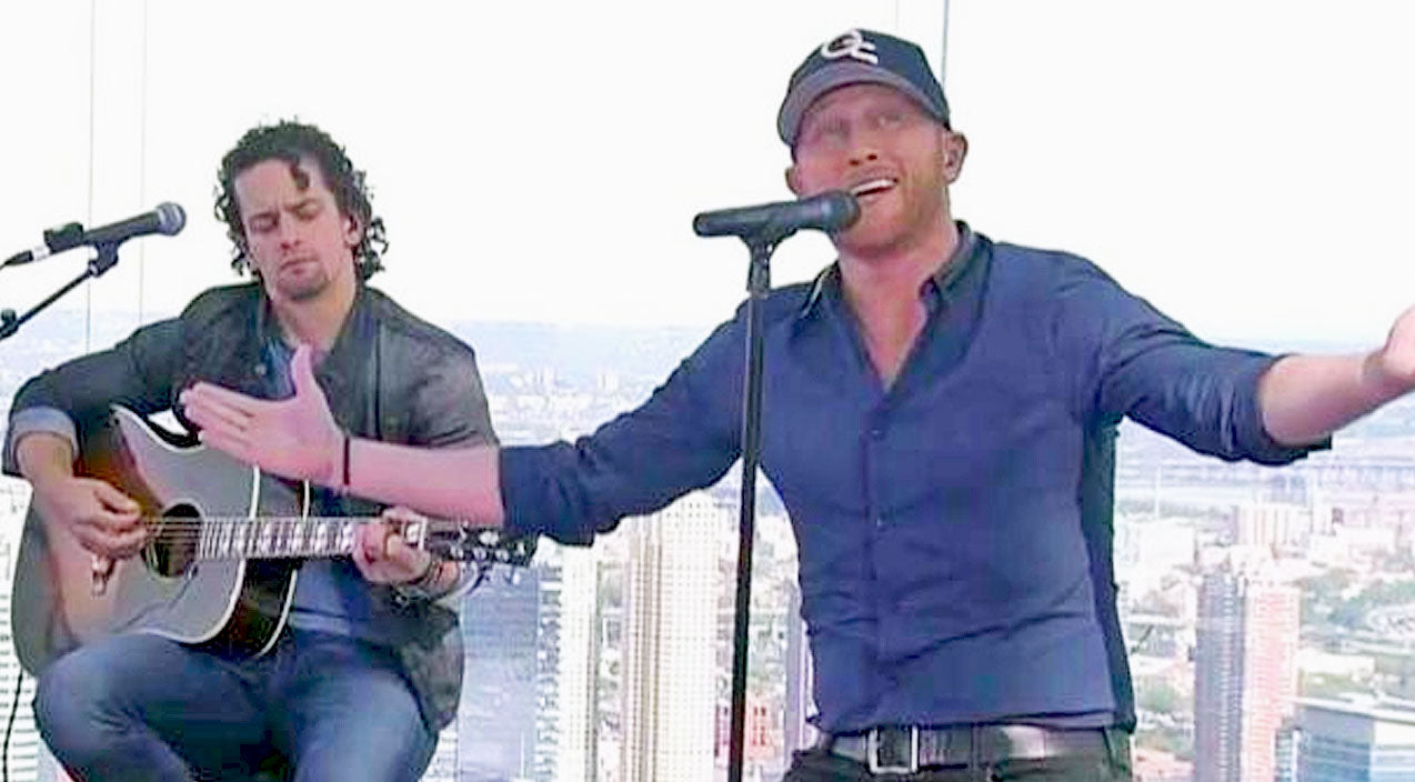 Cole swindell Songs | Cole Swindell Delivers Heartbreaking 'You Should Be Here' On Top Of World Trade Center | Country Music Videos