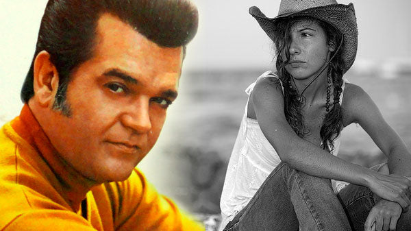 Conway twitty Songs | Conway Twitty - Between Her Blue Eyes And Jeans (WATCH) | Country Music Videos