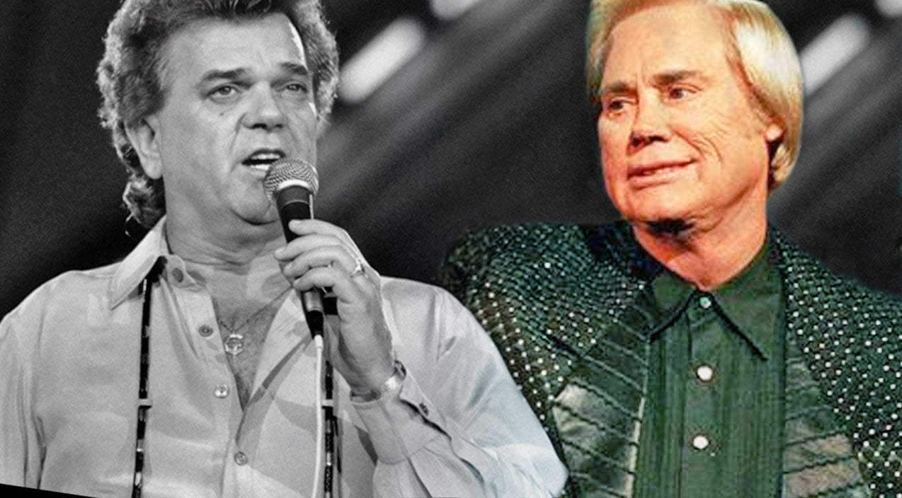 George jones Songs | George Jones Moves Audience To Tears With His Heart-Wrenching Tribute To The Late Conway Twitty | Country Music Videos