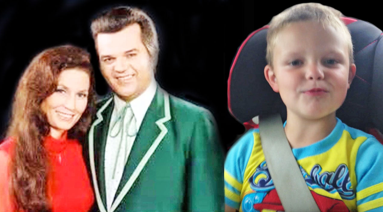 Loretta lynn Songs | Cutest 4-Year-Old Boy Hysterically Sings A Conway Twitty And Loretta Lynn Duet | Country Music Videos