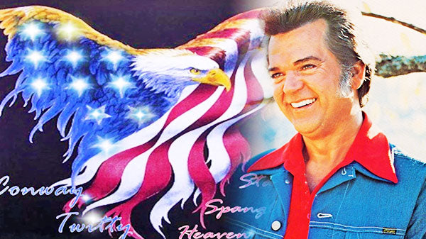 Conway twitty Songs | Conway Twitty - Star Spangled Heaven (VIDEO) | Country Music Videos