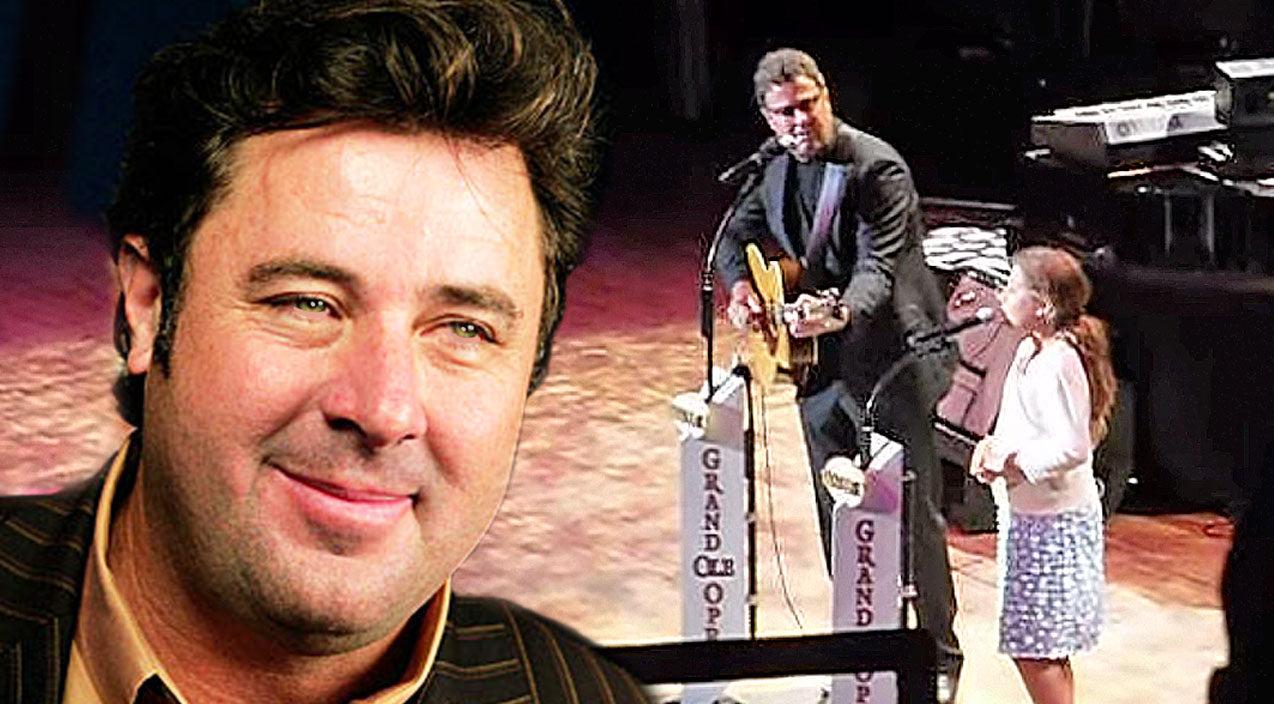 Vince gill Songs | Vince Gill Shares Charming, First-Time Duet With His Daughter, Corrina Gill, At The Opry | Country Music Videos