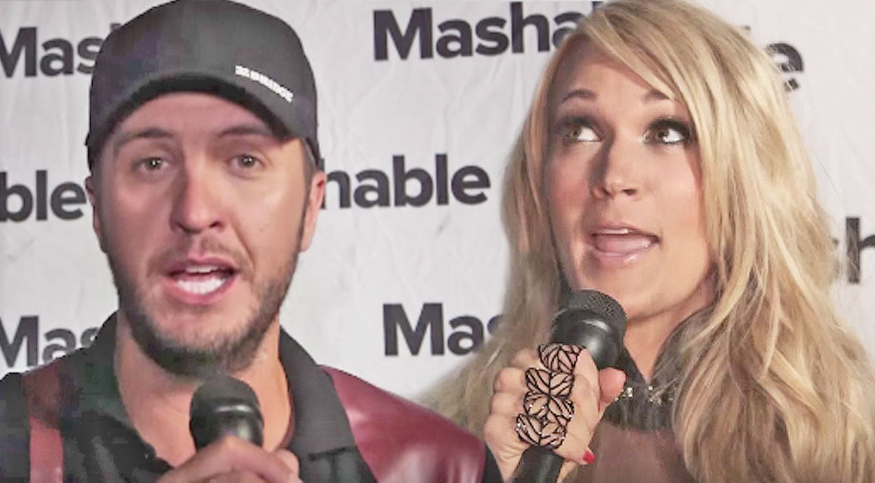 Sara evans Songs | Luke Bryan And Carrie Underwood Show Off Rap Skills With 'Fresh Prince Of Bel-Air' Theme | Country Music Videos