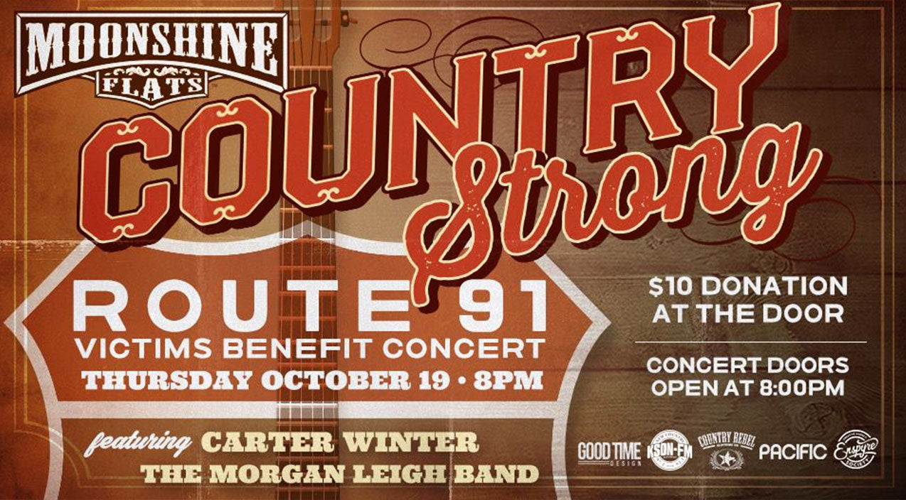 Carter winter Songs | Moonshine Flats To Host 'Country Strong' Las Vegas Victims Benefit Concert | Country Music Videos
